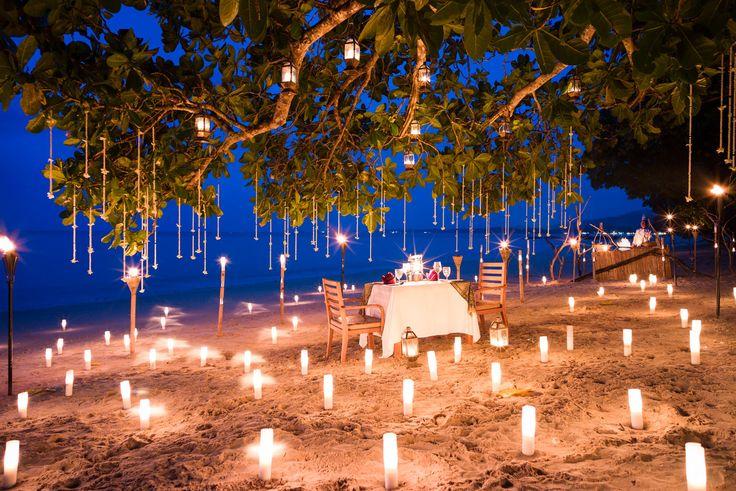 Private Beach BBQ   This looks amazing!   The Sarojin, Thailand   Romantic Travel
