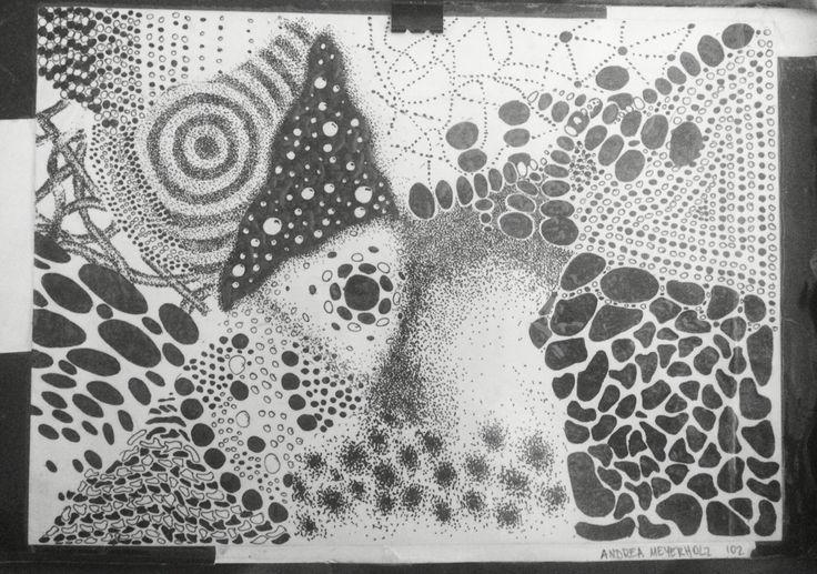 Pointillism, rapidograph - Andrea Meyerholz