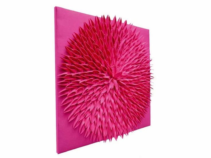 TULIP - sound absorbing panel - what a great idea...