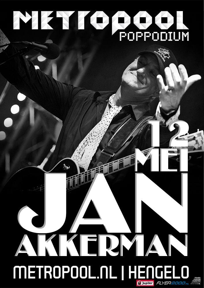 vrijdag 12 mei | Jan Akkerman | Het staat buiten kijf dat Jan Akkerman nog altijd bij de beste gitaristen van de wereld hoort. Blues, rock of klassiek, hij tovert het allemaal moeiteloos uit de snaren.