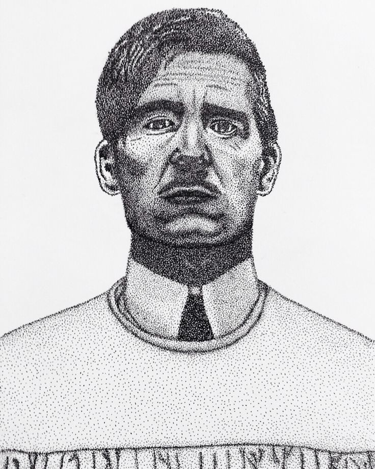 Dotwork, portrait, dot, CliveOwen, TheKnick, Dr. John Thackery, art, artwork, my work, pointillism