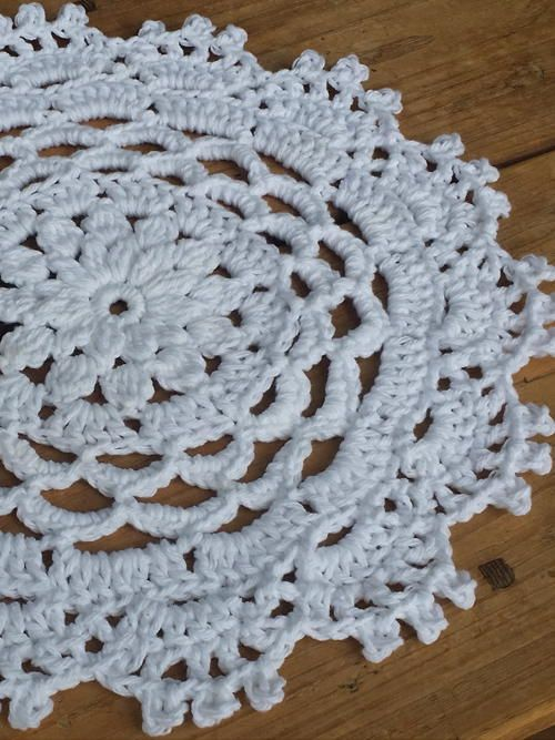 Delicate as can be, this beautiful crochet doily pattern will instantly make any occasion special!