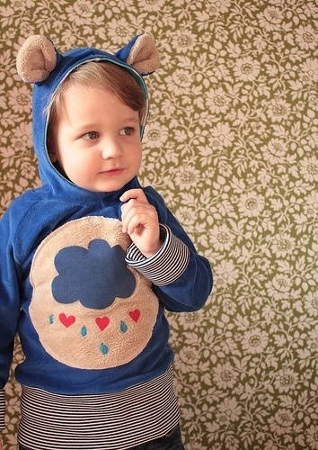 Care Bear hoodie! This is way too cute for it's own good!