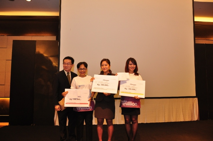 Winners of Karaoke Competition #InterContinental #Jakarta #Celebrate #Service #Week