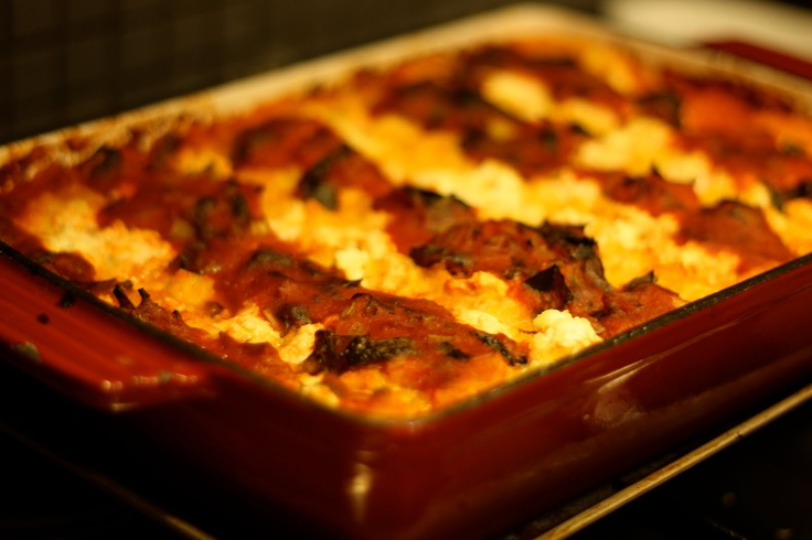 Easy Peasy Organic *Recipes to Change Your World*: Polenta Lasagne