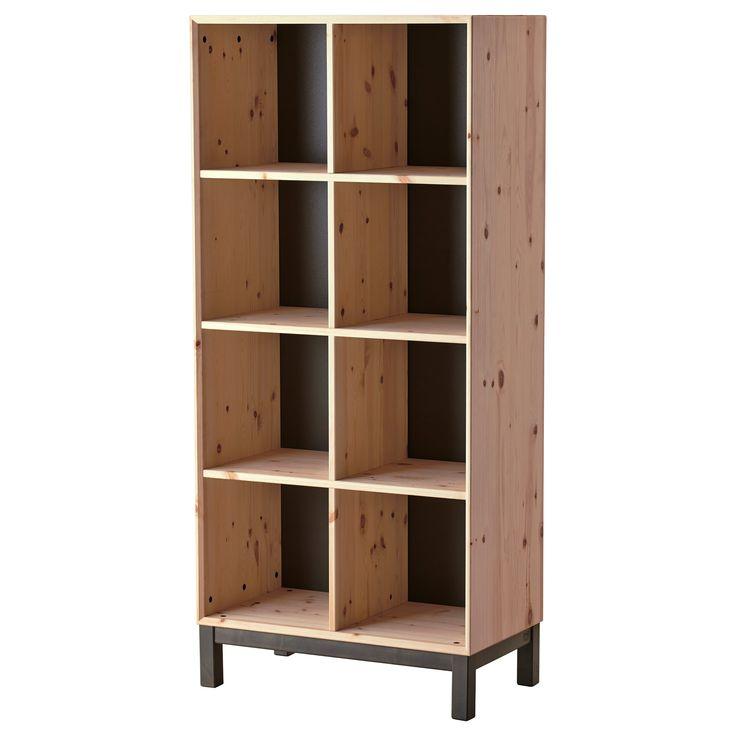 NORNÄS Boekenkast - IKEA. Van deze serie met die pootjes is er ook een boekenkast van 73x159 cm. Moet naar de IKEA om naar die pootjes te kijken.