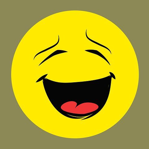Smiley, Hangulatjel, Vicces