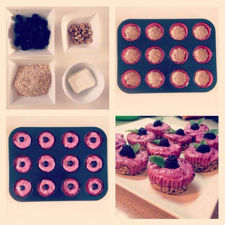 Tvarohové dortíčky - Fitness Recepty