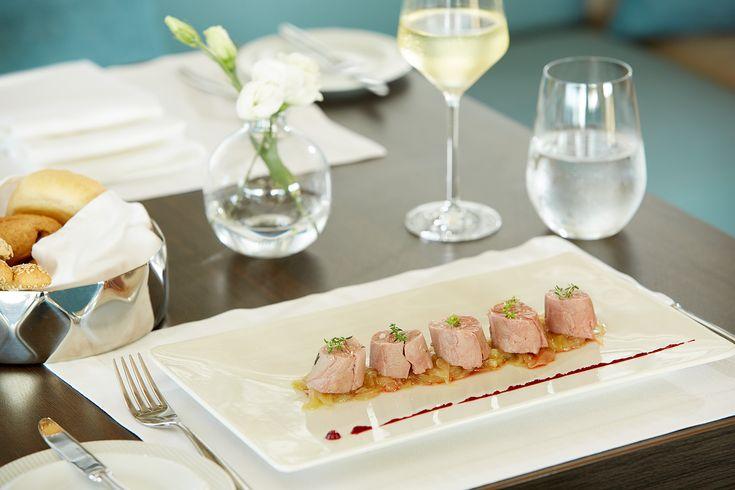 "Lamb fillet on caramelized onions.. A gastronomical treasure hidden at ""Galazio"" Restaurant & Bar!!"