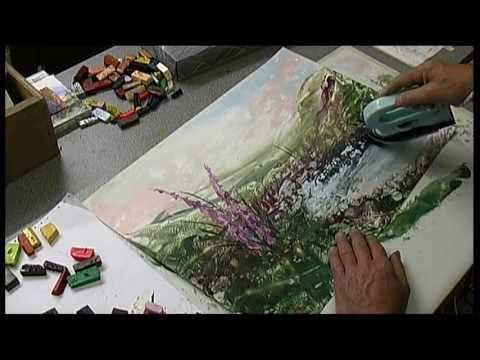 Foxglove landscape in Wax - A2 - YouTube