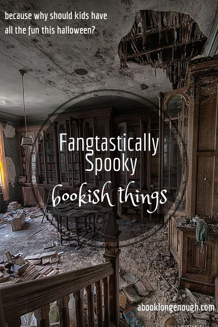 Book-related crafts, art, quotes, & more for Halloween! Curated by a librarian at http://abooklongenough.com/blog.