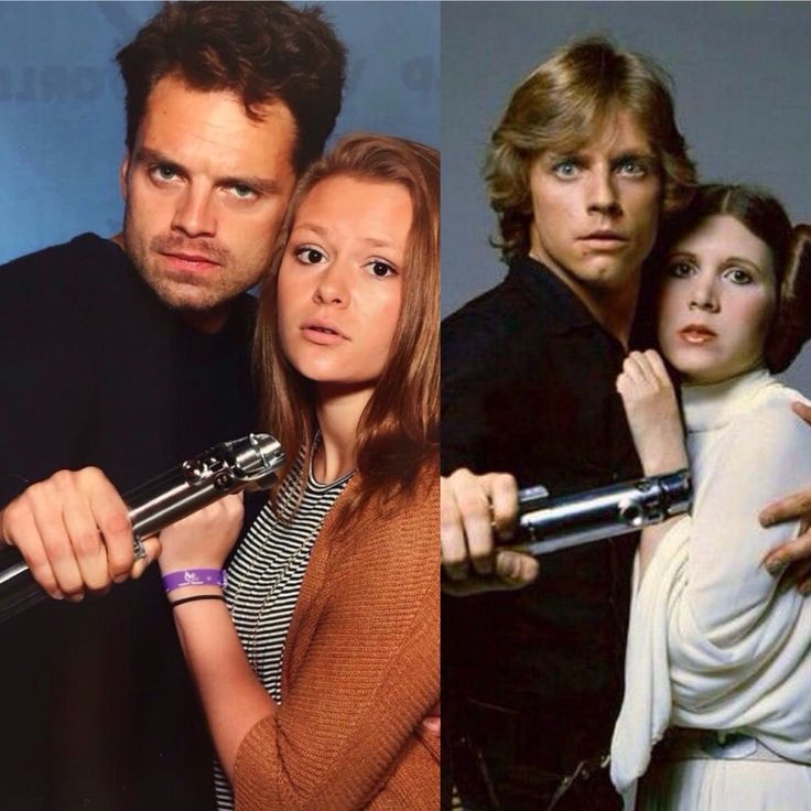 """""""Where is my strong Seb Skywalker to come rescue me?"""""""