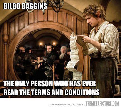 Bilbo Baggins…