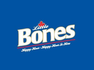 Tragically Hip Lot-Style T-Shirt - Little Bones : Labatt Blue