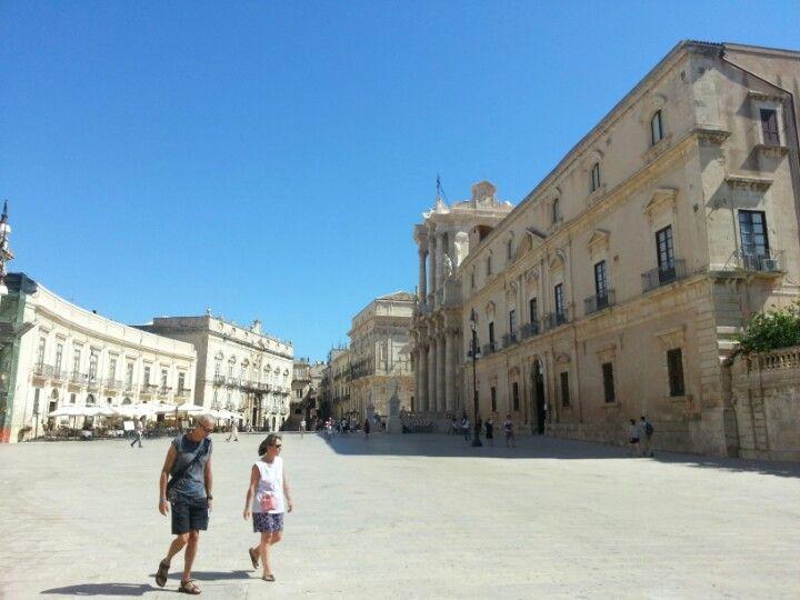 Ipogeo di Piazza Duomo in Siracusa, Sicilia
