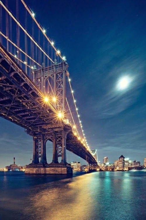 ブルックリンブリッジの夜景が最高!ニューヨーク 旅行・観光の見所!