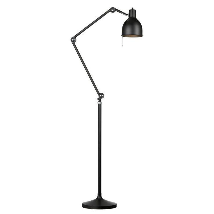 PJ80 golvlampa, matt svart i gruppen Belysning / Lampor / Golvlampor hos RUM21.se (105651)