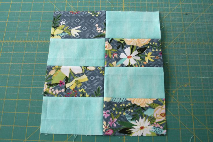 two by four - a quilt block tutorial
