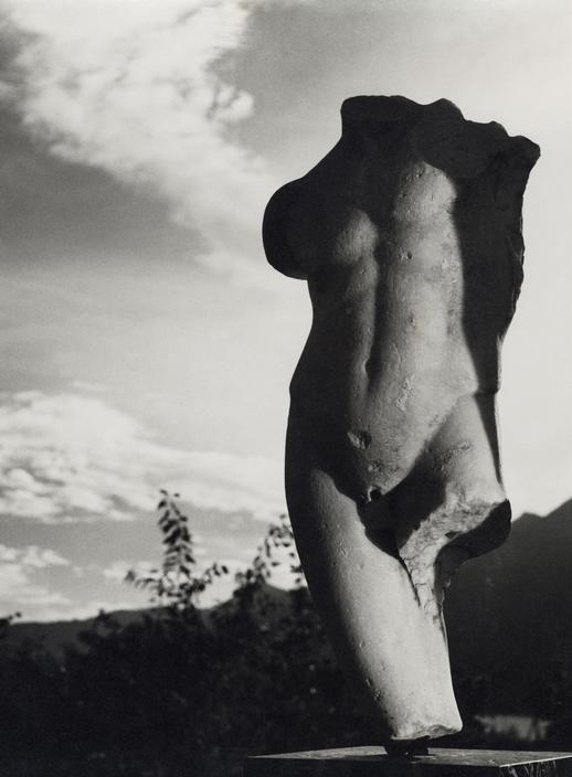 SWITZERLAND. Greek Torso. 1937. Collection von der Heydt, Monte verita. Ascona. By Herbert List