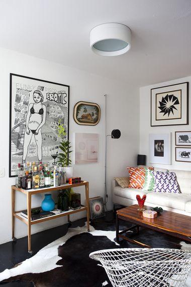 Como fazer uma coração eclética para sua casa Carolina Pelzer