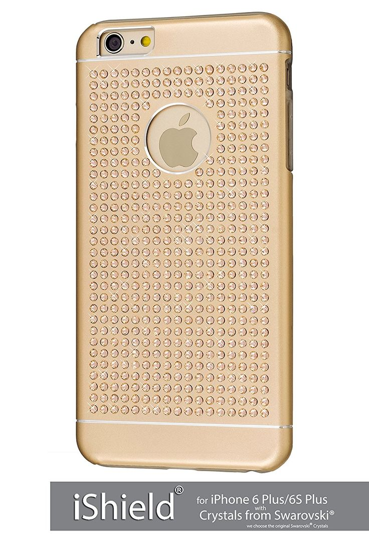 iShield® 6 Plus Light avec*492*Crystals from Swarovski®*luxe moderne étui Collection pour iPhone 6 Plus/6S Plus marque et modèle: iShield® 6 Plus Light Swarovski Elements etui Luxe (Champagne Or): Amazon.fr: Informatique