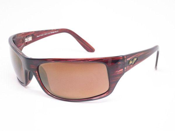 Maui Jim Peahi MJ 202-10 BurgundyTortoise Polarized Sunglasses - Eye Heart Shades
