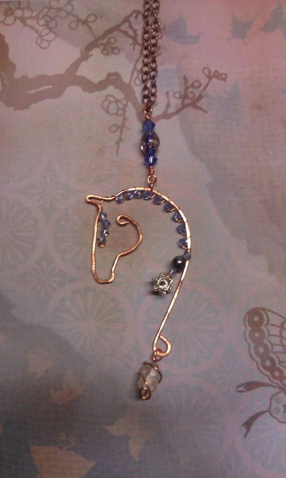 Free Formed Copper Wire Horse