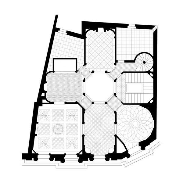 846 best the space is in the plan images on pinterest architecture drawing plan architecture - Maison de l armateur le havre ...