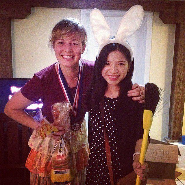 Breadwinner and Dust Bunny