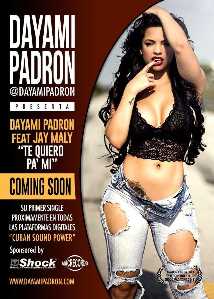 """DAYAMI PADRON feat JAY MALI """"TE QUIERO PA' MI"""" PROXIMAMENTE DISPONIBLE EN ITUNES, AMAZON Y DEMAS PLATAFORMAS DIGITALES!!!"""