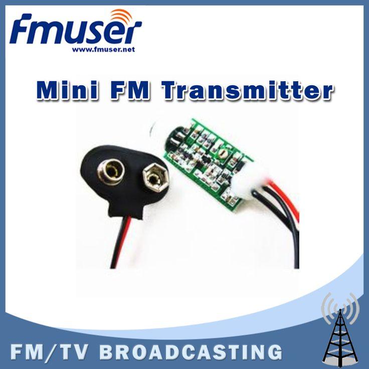 送料無料fmuser m01 ミニ fm トランスミッタ 60 mhz の 128 mhz ミニ バグ盗聴dictagraph インターセプタ
