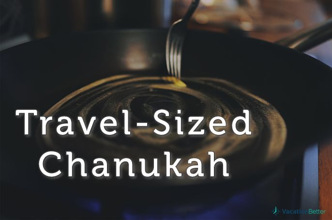 Take the holidays with you wherever you go. While the weather may change, the spirit of the season will always stay the same.   VacationBetter.org   #timeshare #travel #chanukah #holidays