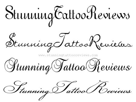 cursive writing fonts for tattoos The art of choosing the perfect font and lettering for a new tattoo  cursive fonts are adaptations of cursive handwriting, which was often taught in schools prior.