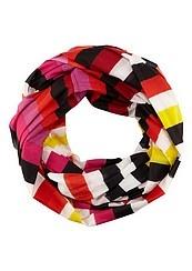 striped tube scarf