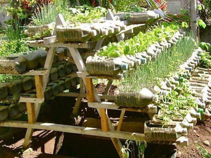 Recycled Container Vegetable Garden. In This Amazing Home Made Rack System. Part 61