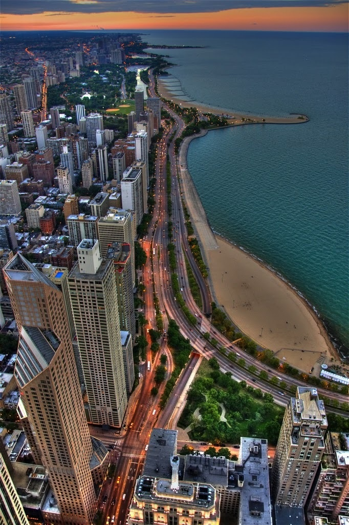 Chicago Dma Map%0A Chicago Summer  The city is its own summer jewelry   u   c  Makes me wanna
