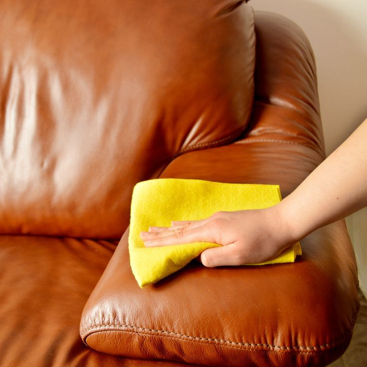 The Best Way to Clean Your Leather Couch, According to a