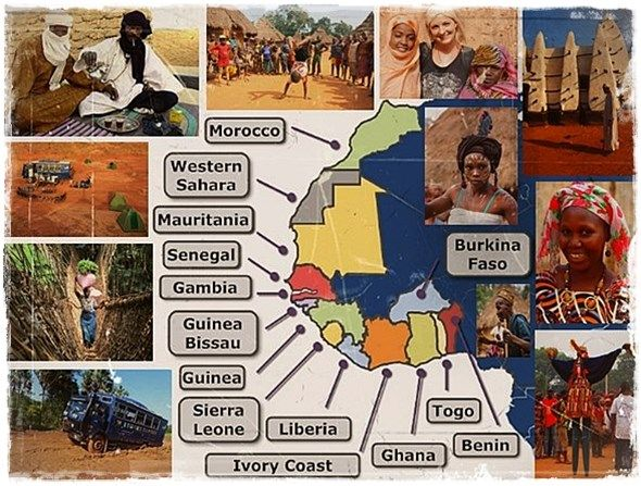 The Countries Of West Africa We Operate In