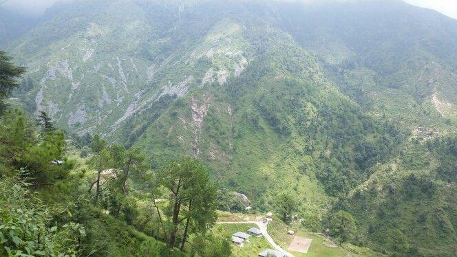 Beautiful views of bhagsu