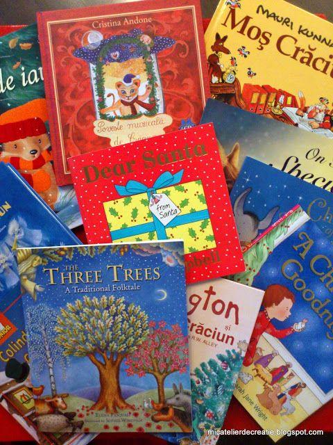 Mic atelier de creatie: Recomandari carti de Craciun, carti de iarna