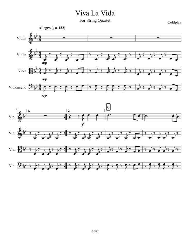 Lyric coldplay viva la vida lyrics : Viva La Vida | MuseScore | Progetti da provare | Pinterest | Scores
