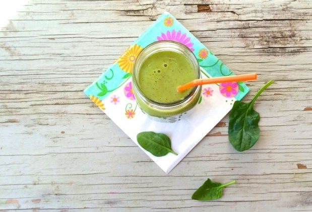 Smoothie vert fruité