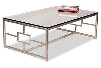The perfect coffee table for a book display.