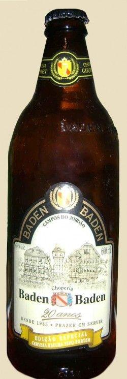 Cerveja Baden Baden Edição Especial - Porter, estilo Porter, produzida por Baden Baden, Brasil. 6.4% ABV de álcool.
