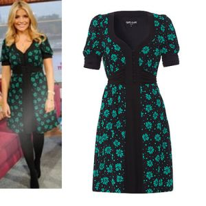 Where did Holly Willoughby get her dress worn in This Morning (25th September)? - Style on Screen