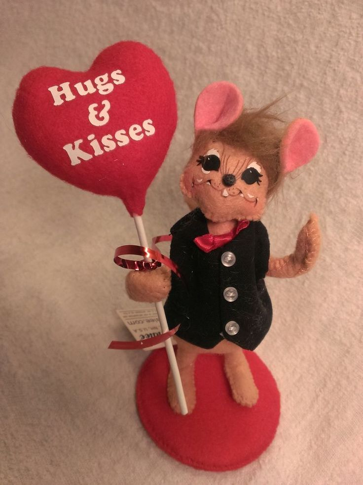 valentine kiss mouse