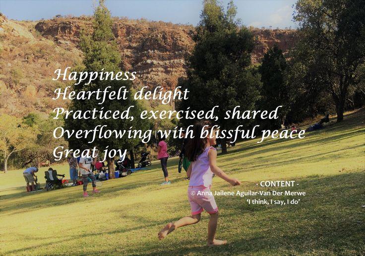 Contentment - Poem