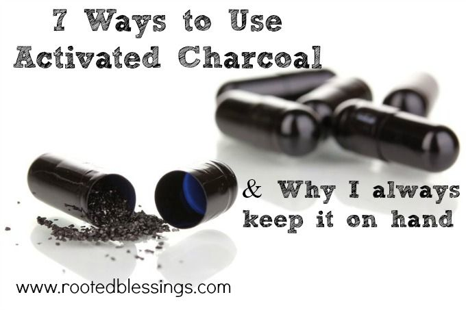 7 Ways to Use Activated Charcoal we use this quite a bit around our house, @Laurel Sheppard you should give it a try
