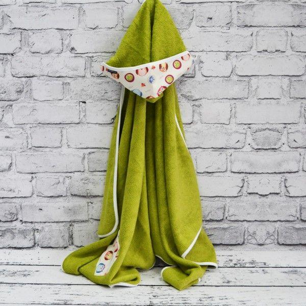 ręcznik z kapturkiem Fluffy Owls