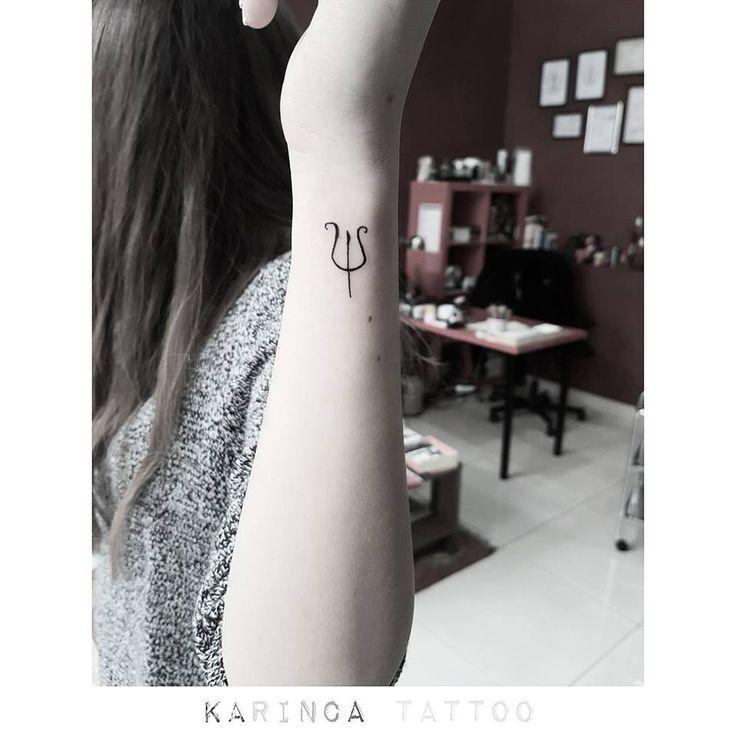 Minimal Psychology Symbol http://instagram.com/karincatattoo #psychology #tattoo #symboltattoo #smalltattoo #minimaltattoo #littletattoo #tattoos #dövme #tattooideas #inked
